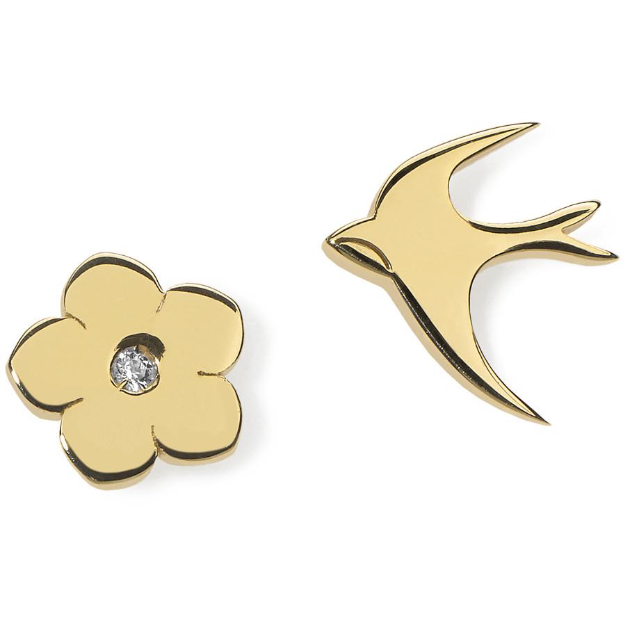 orecchini donna gioielli Comete Love Tag ORA 117