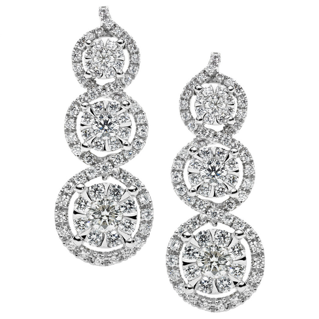 orecchini donna gioielli Comete Lumiere ORB 725