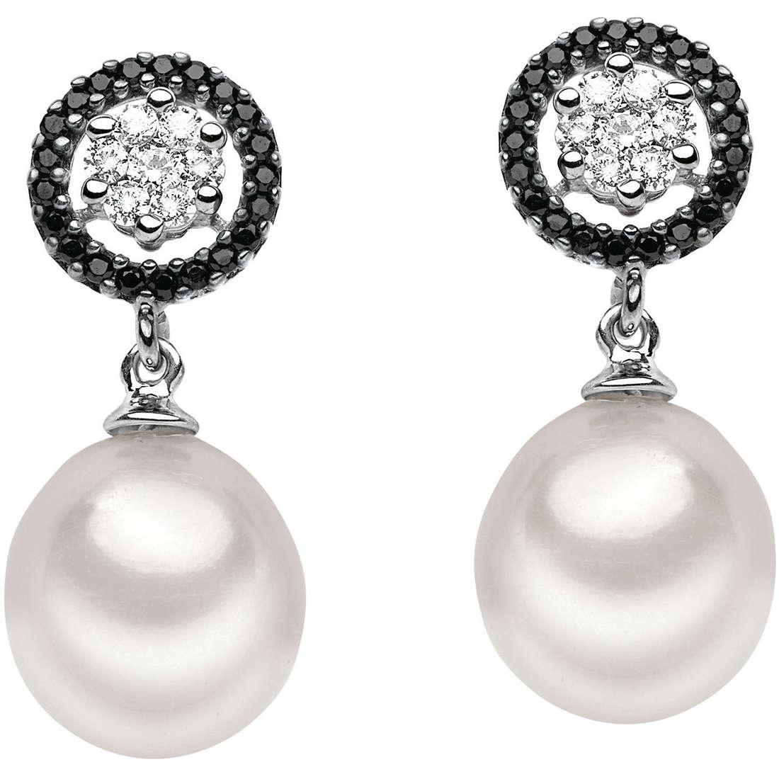 orecchini donna gioielli Comete Perla ORP 475