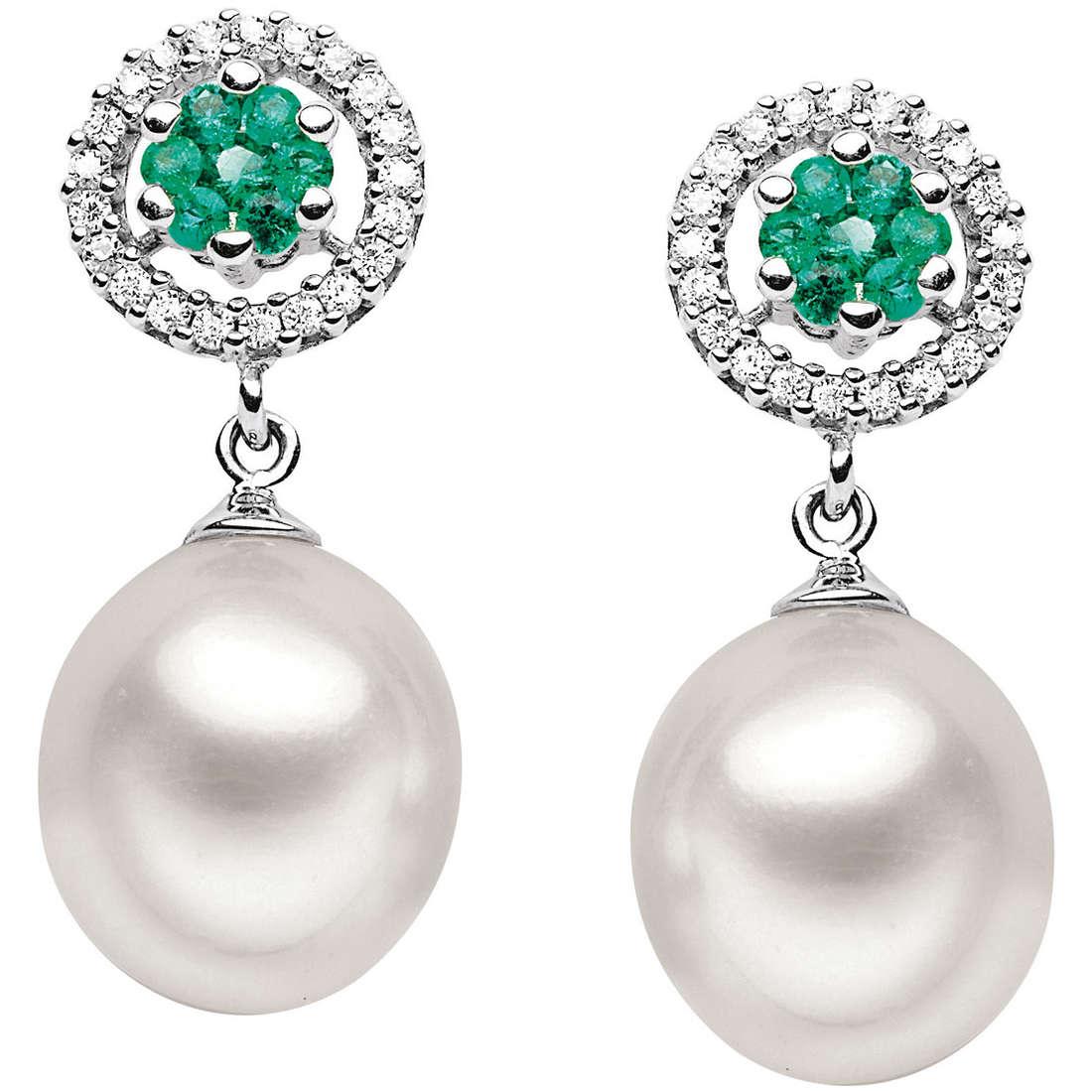 orecchini donna gioielli Comete Perla ORP 476