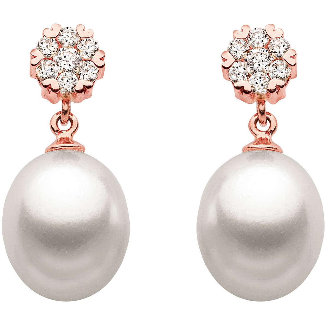 orecchini donna gioielli Comete Perla ORP 478