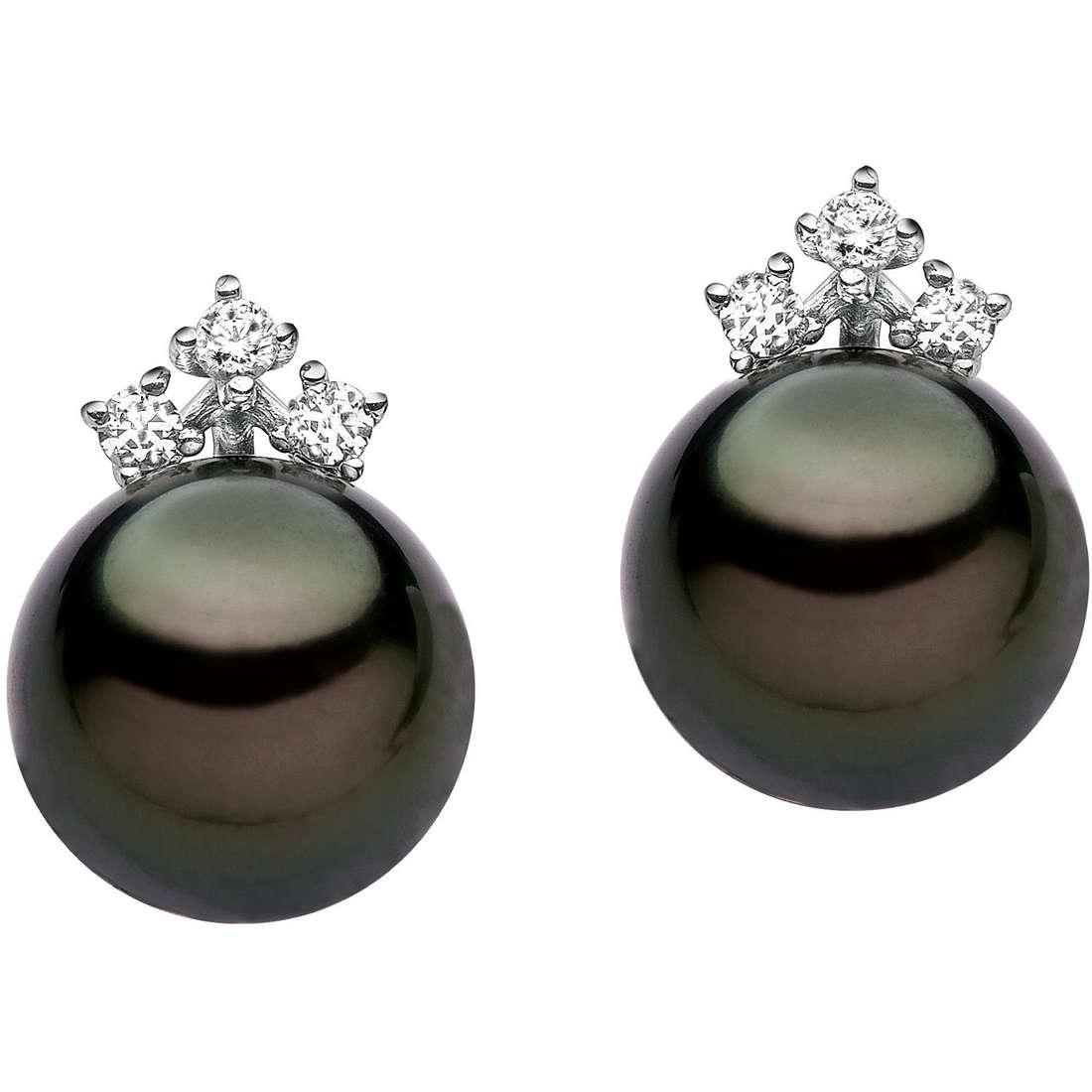 orecchini donna gioielli Comete Perla ORP 479
