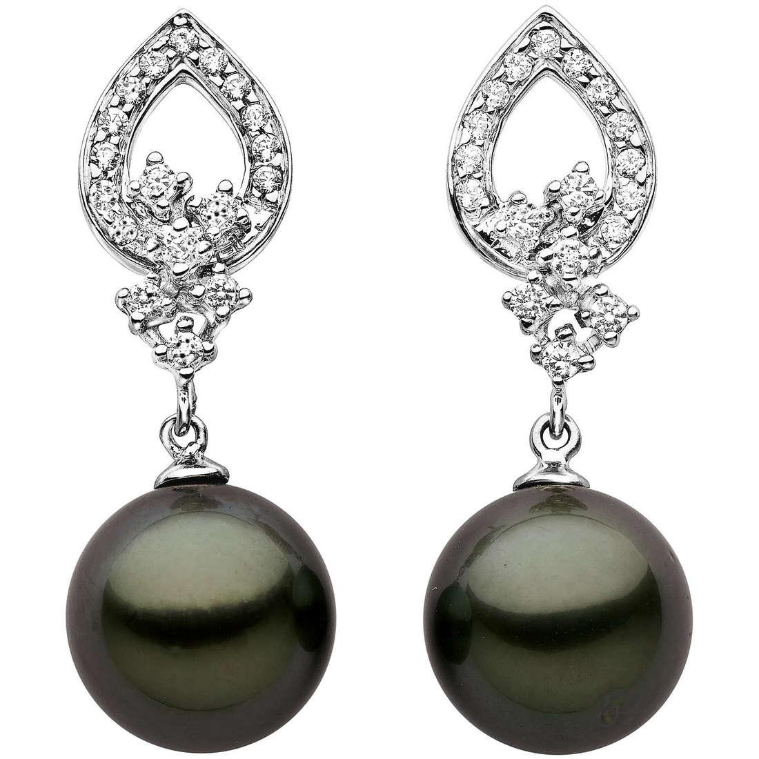 orecchini donna gioielli Comete Perla ORP 480
