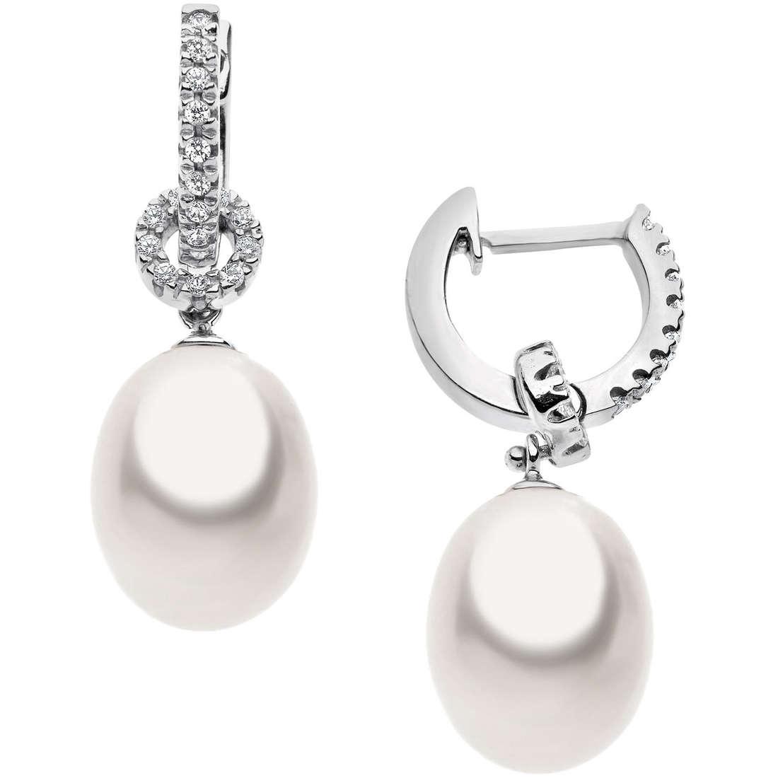 orecchini donna gioielli Comete Perla ORP 487
