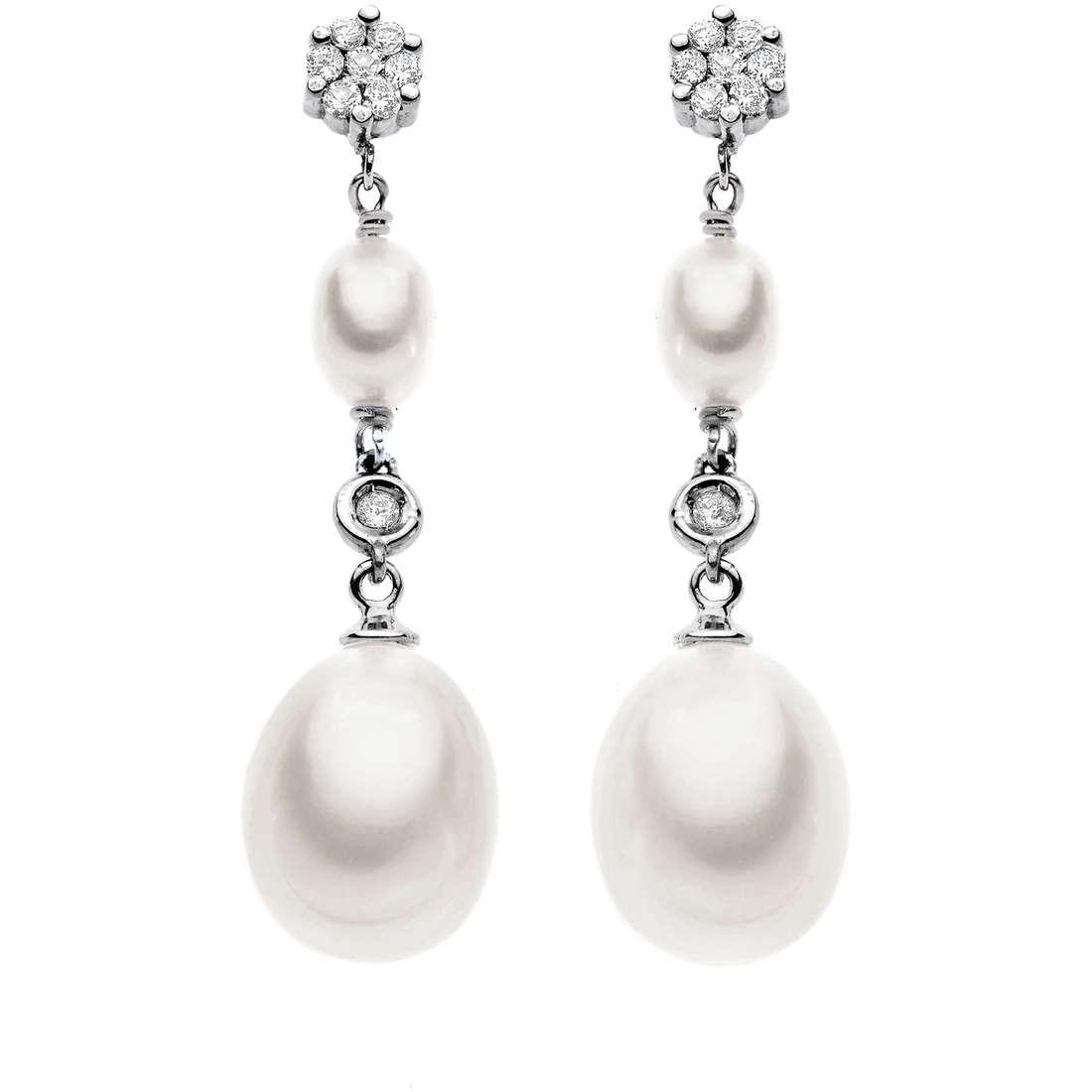 orecchini donna gioielli Comete Perla ORP 509