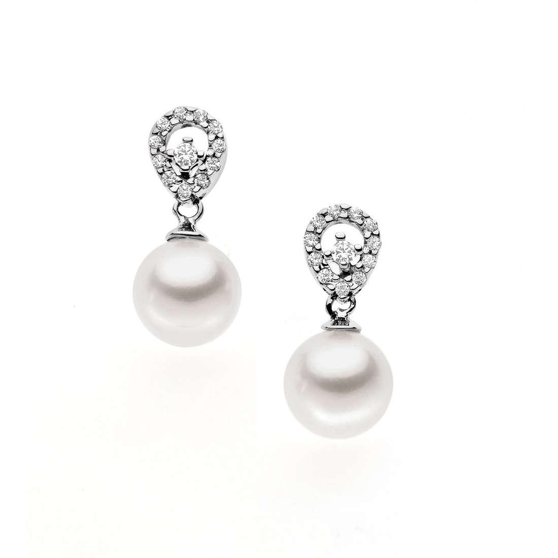 orecchini donna gioielli Comete Perla ORP 511
