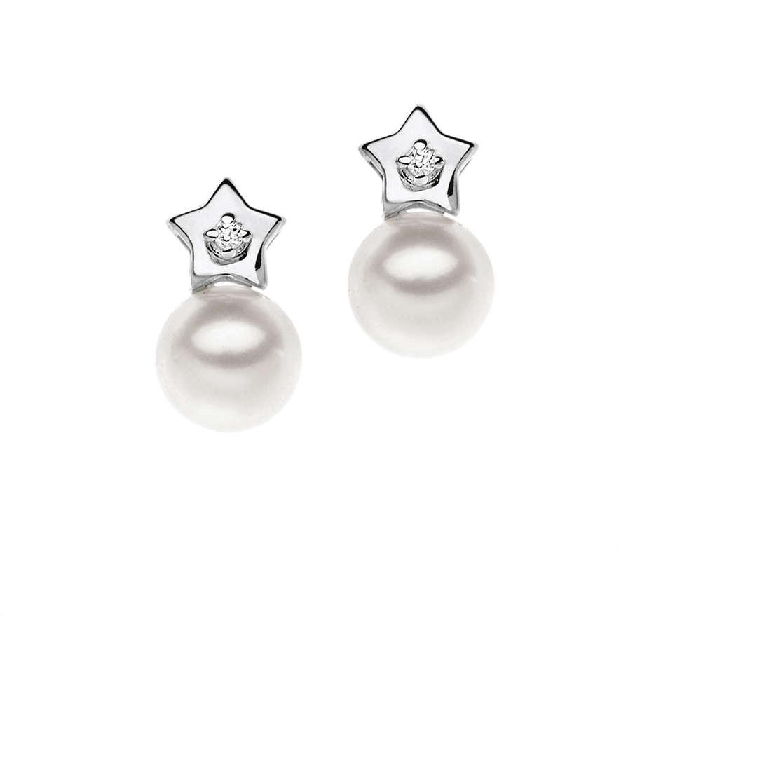 orecchini donna gioielli Comete Perla ORP 526