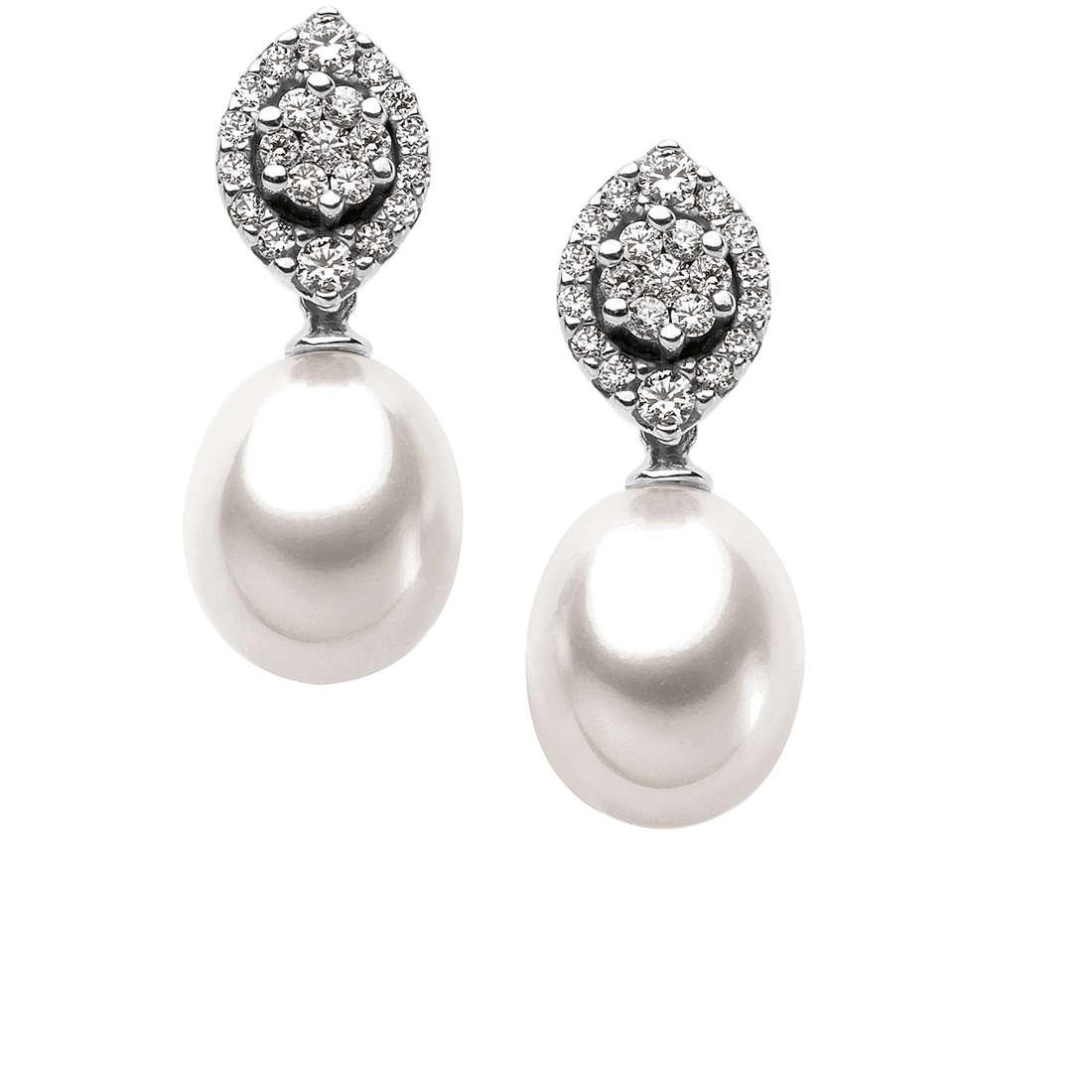 orecchini donna gioielli Comete Perla ORP 537
