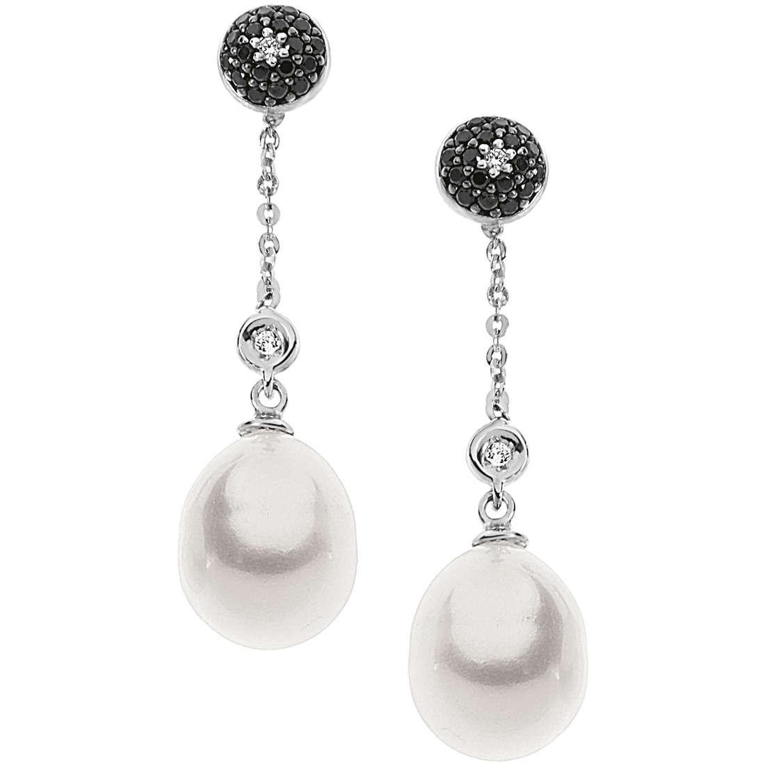 orecchini donna gioielli Comete Perla ORP 539