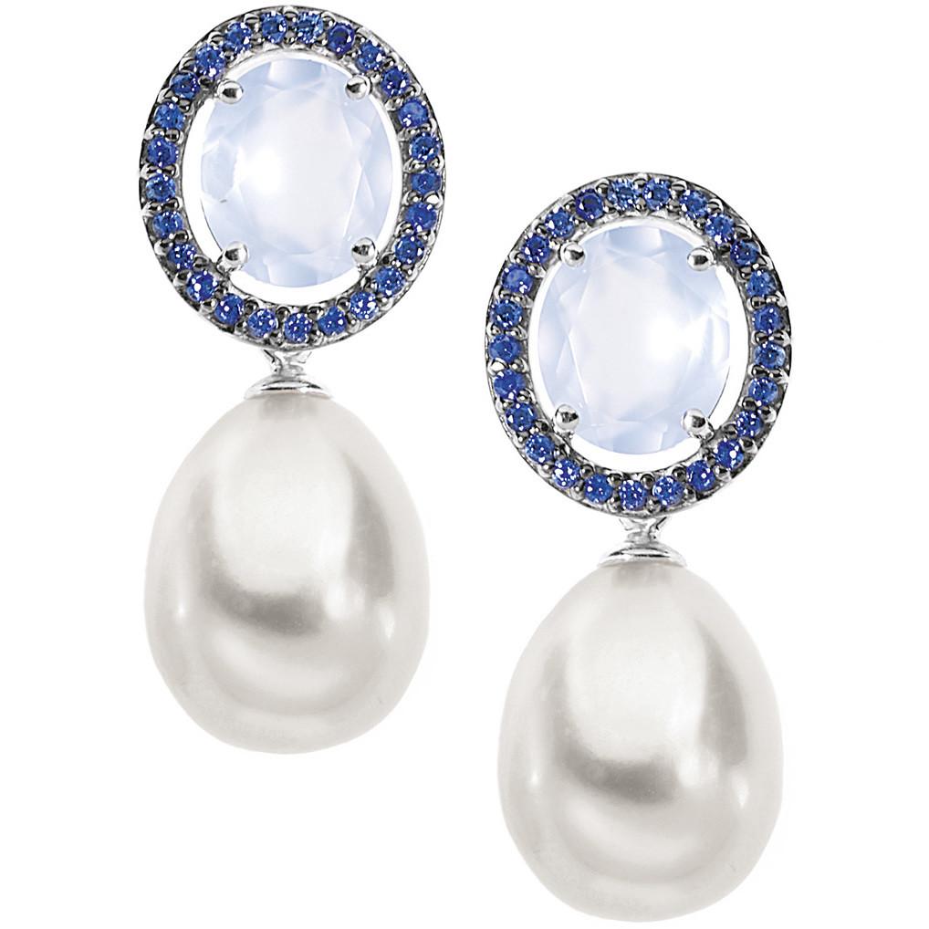 orecchini donna gioielli Comete Perla ORP 542