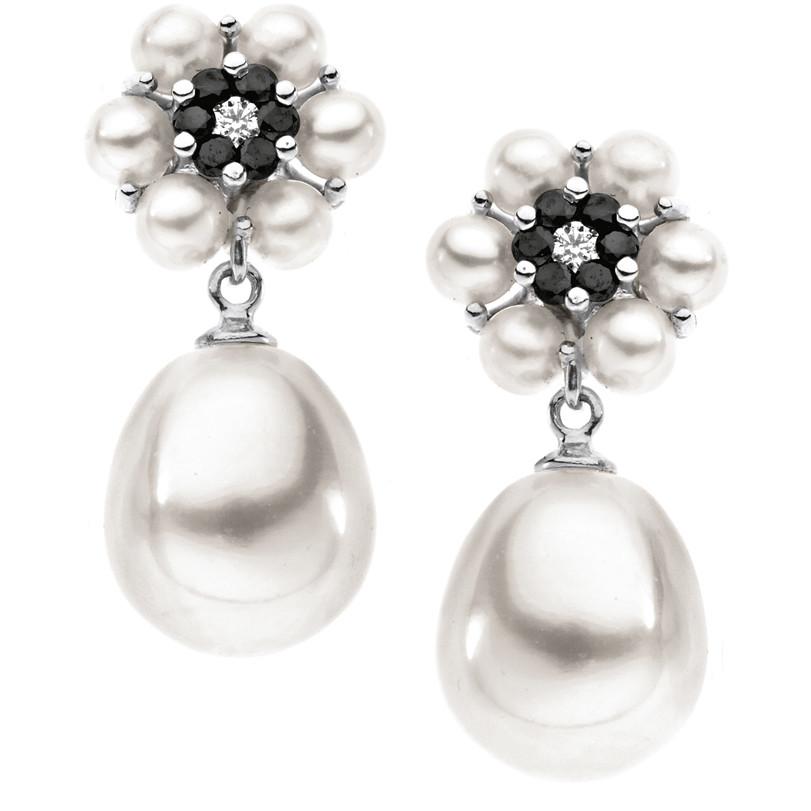 orecchini donna gioielli Comete Perla ORP 547