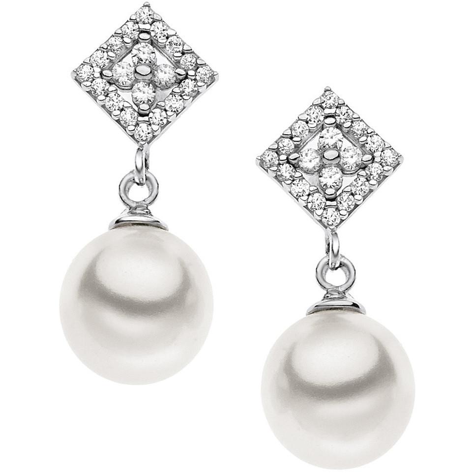 orecchini donna gioielli Comete Perla ORP 551