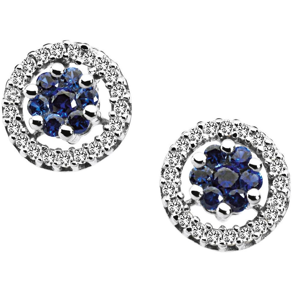 orecchini donna gioielli Comete Pietre preziose colorate ORB 519