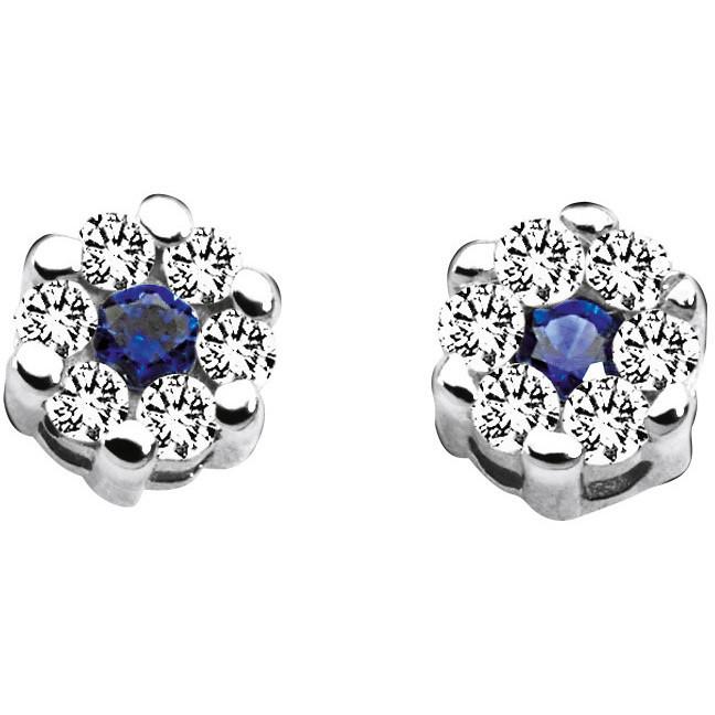 orecchini donna gioielli Comete Pietre preziose colorate ORB 522