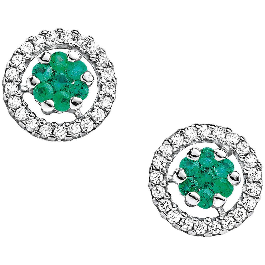 orecchini donna gioielli Comete Pietre preziose colorate ORB 589