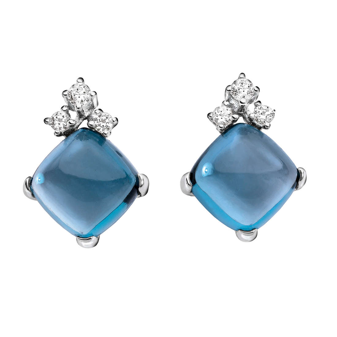 orecchini donna gioielli Comete Pietre preziose colorate ORB 594
