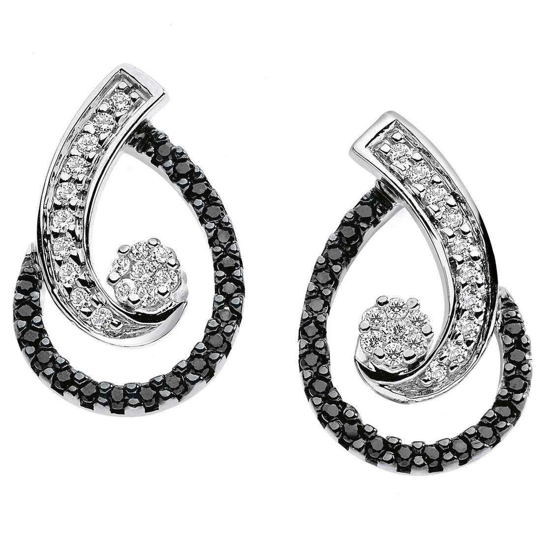 orecchini donna gioielli Comete Pietre preziose colorate ORB 597