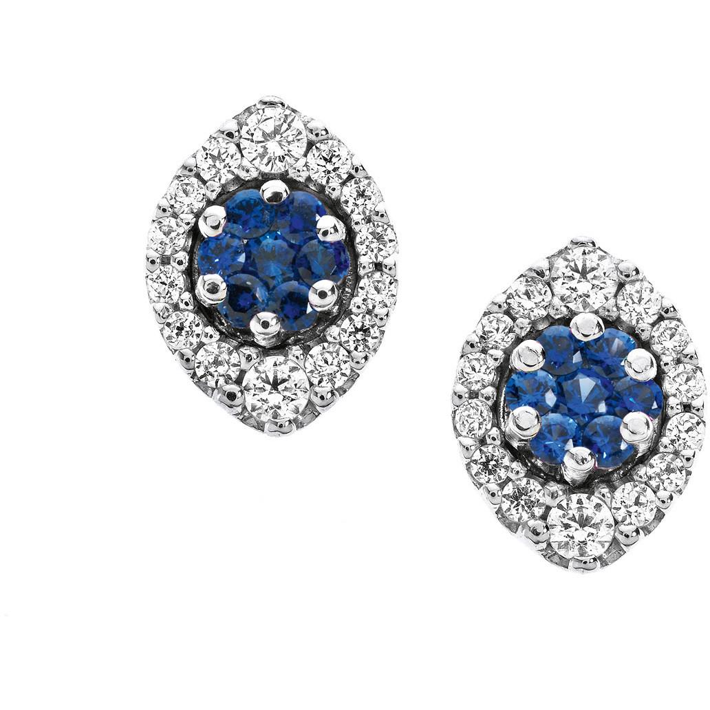 orecchini donna gioielli Comete Pietre preziose colorate ORB 611