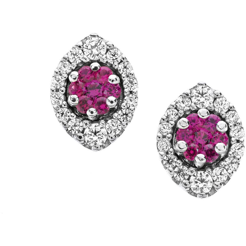 orecchini donna gioielli Comete Pietre preziose colorate ORB 612