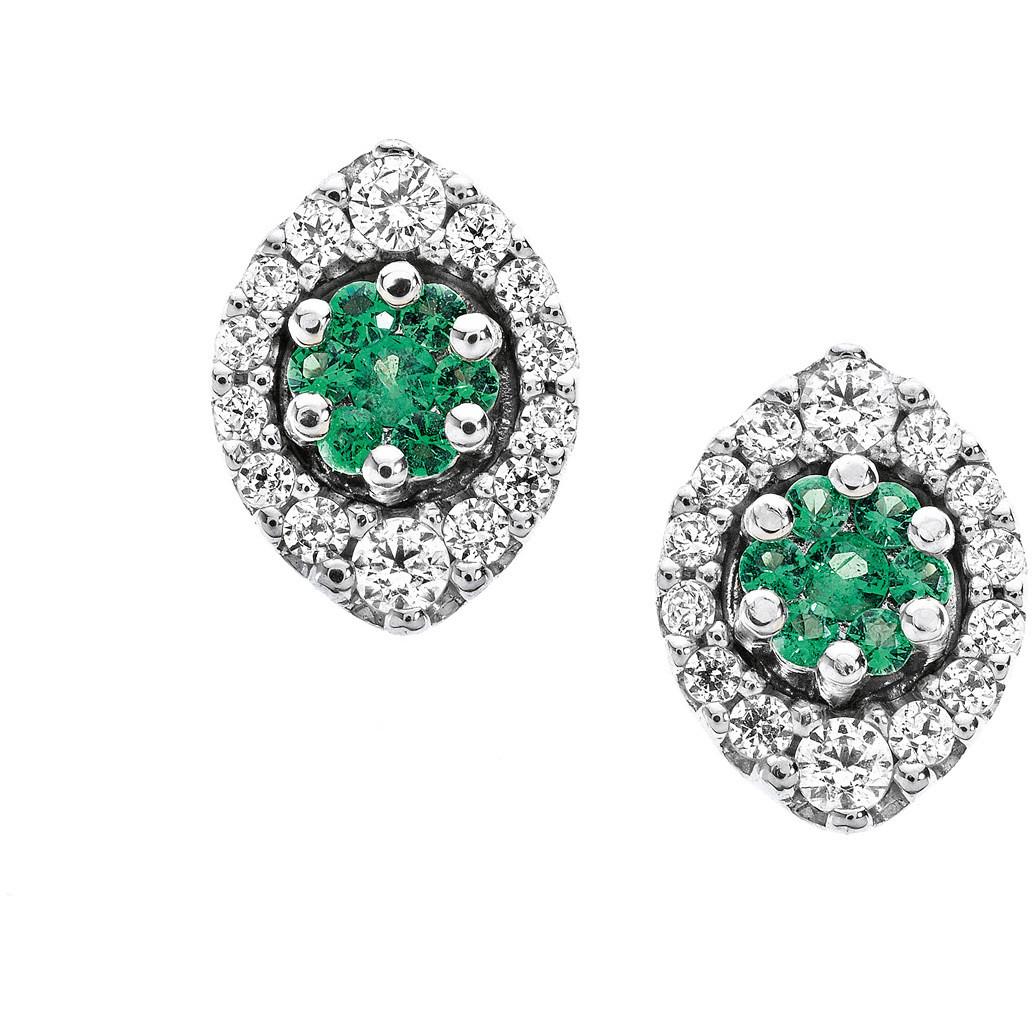 orecchini donna gioielli Comete Pietre preziose colorate ORB 613