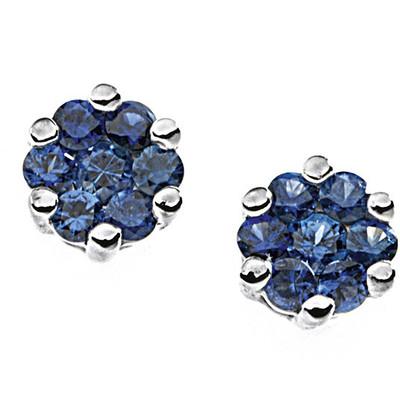 orecchini donna gioielli Comete Pietre preziose colorate ORB 647