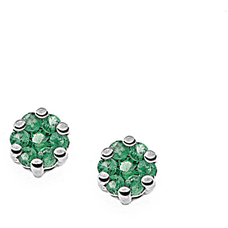 orecchini donna gioielli Comete Pietre preziose colorate ORB 649