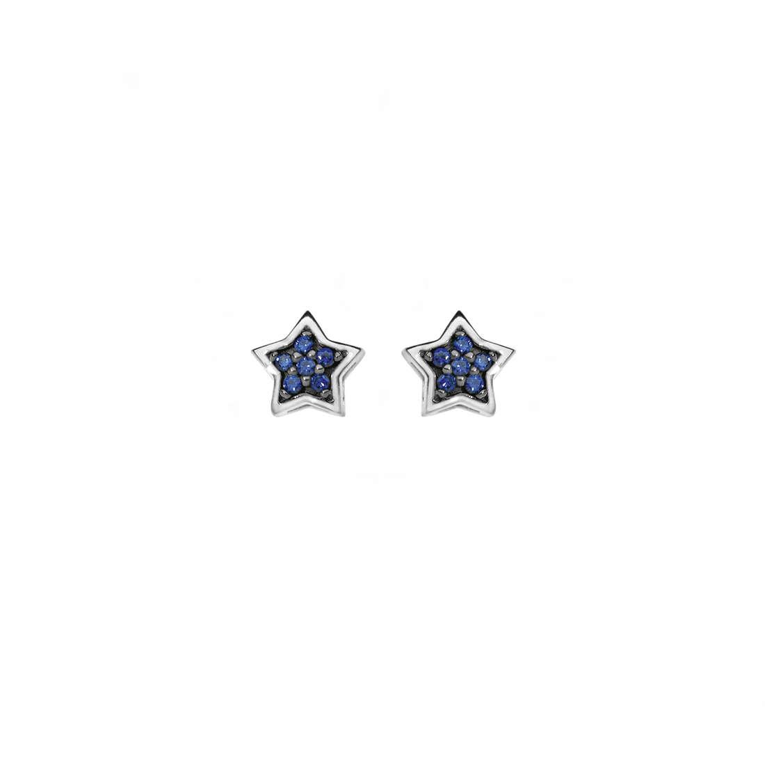 orecchini donna gioielli Comete Pietre preziose colorate ORB 655