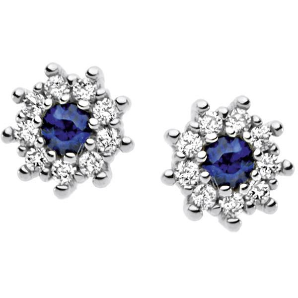 orecchini donna gioielli Comete Pietre preziose colorate ORB 658