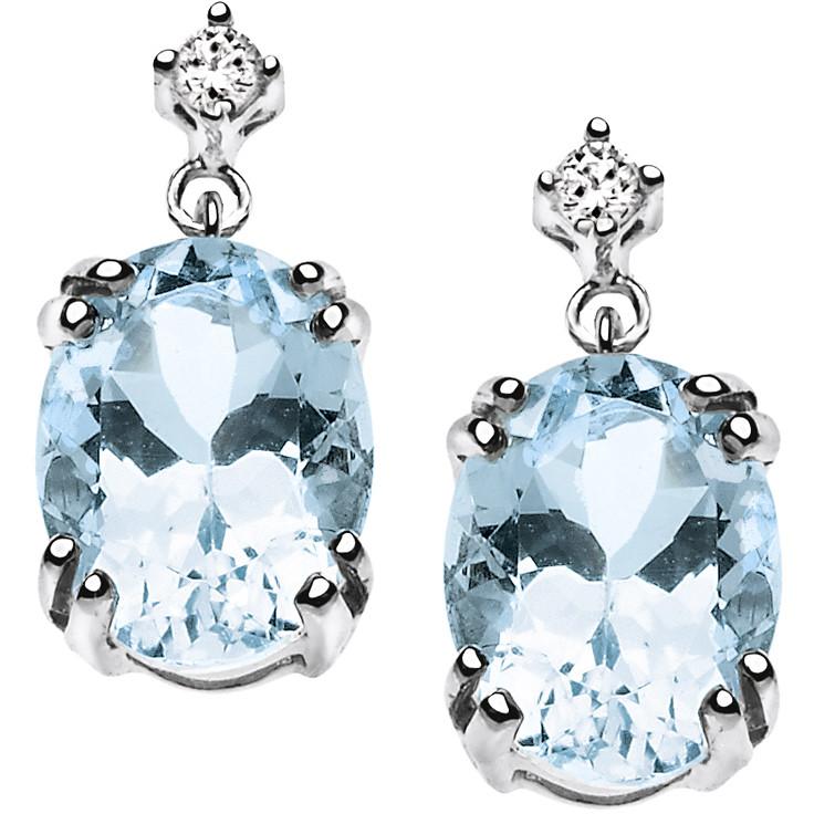 orecchini donna gioielli Comete Pietre preziose colorate ORB 662