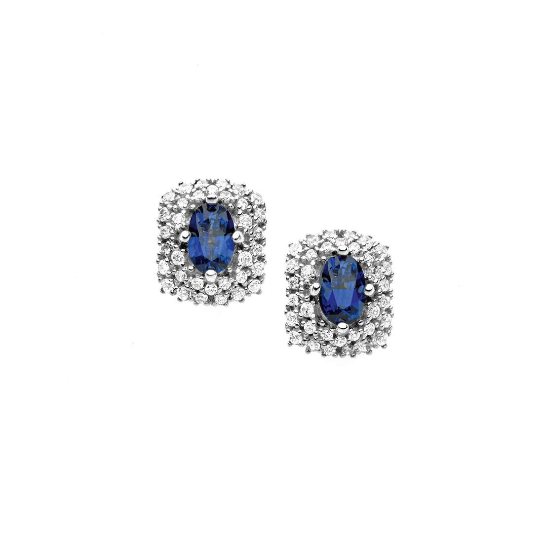 orecchini donna gioielli Comete Pietre preziose colorate ORB 665