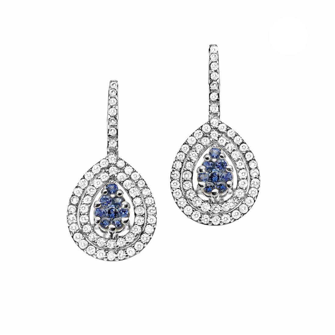 orecchini donna gioielli Comete Pietre preziose colorate ORB 676
