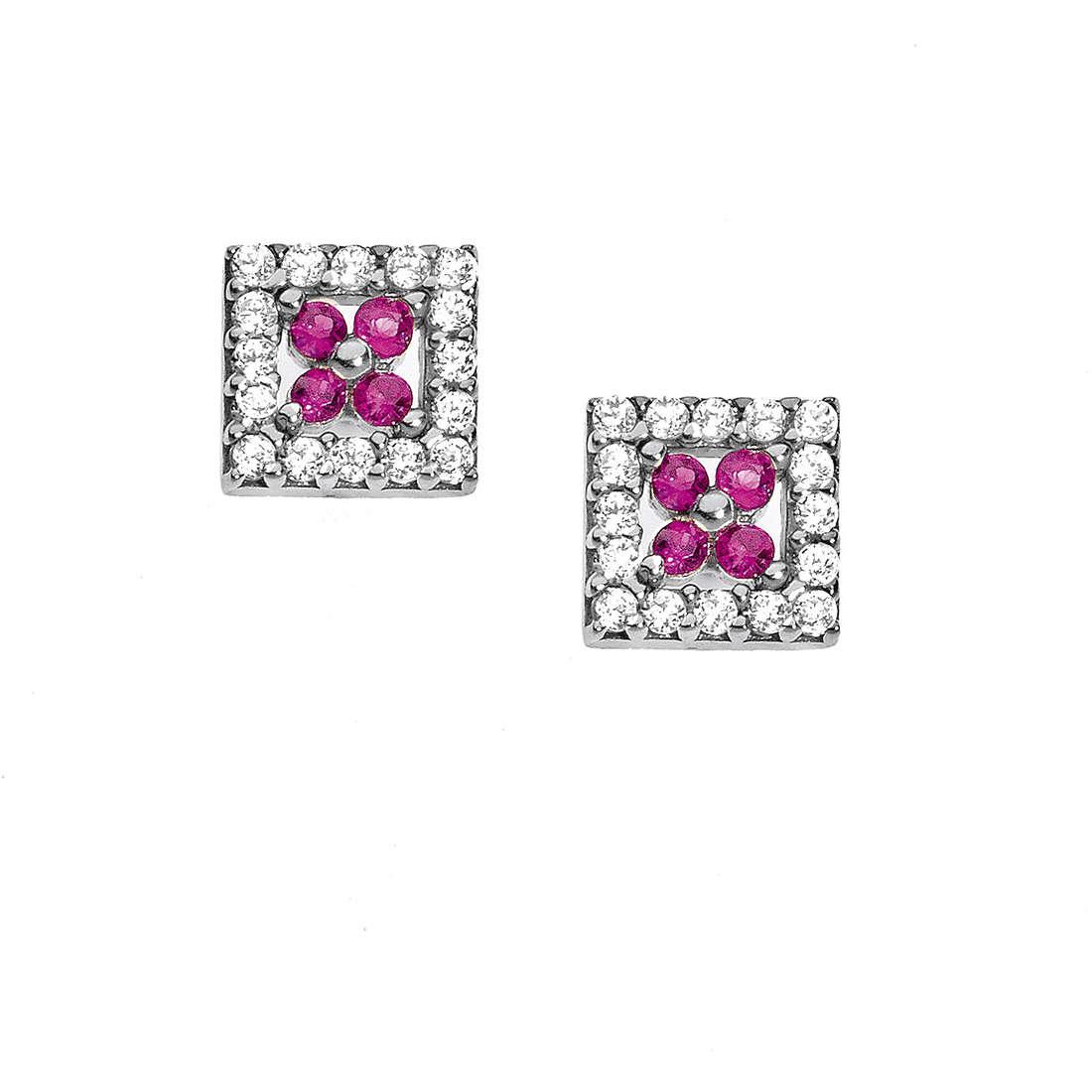 orecchini donna gioielli Comete Pietre preziose colorate ORB 682