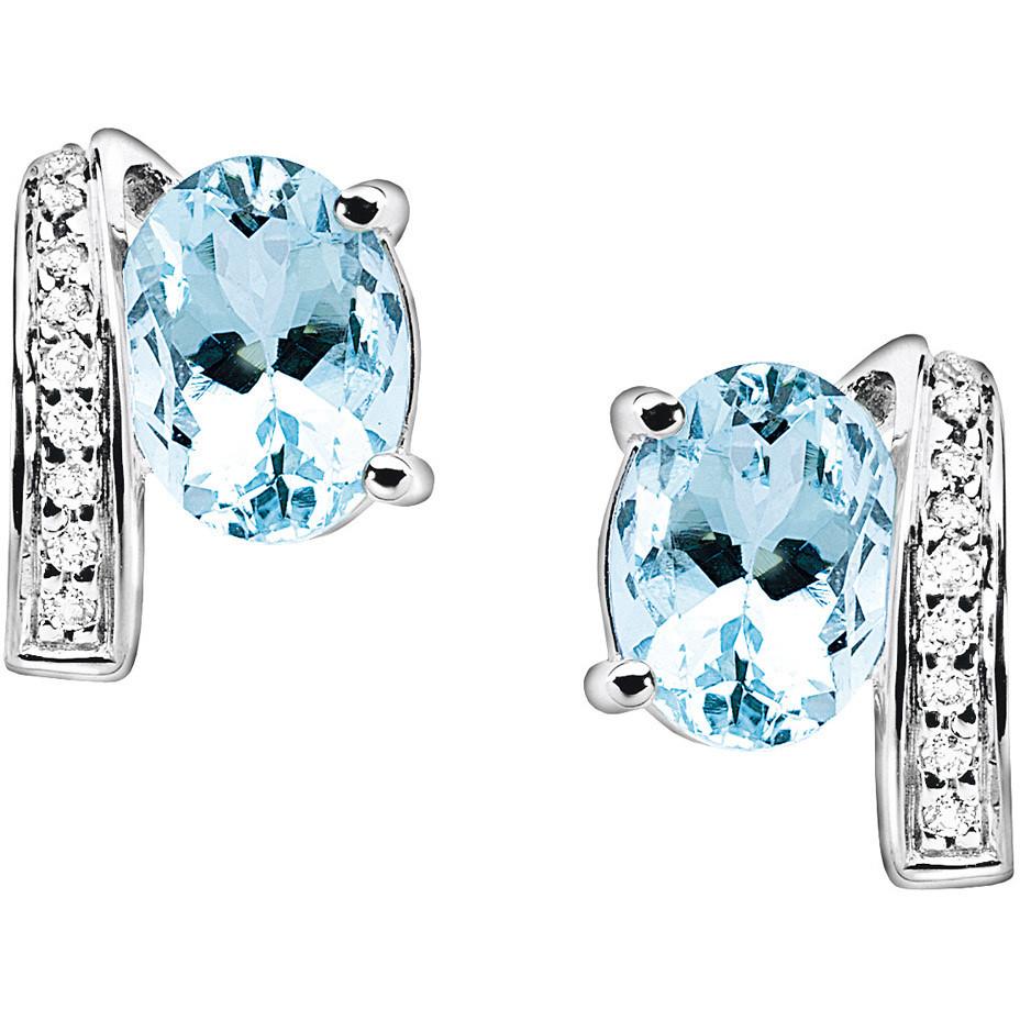 orecchini donna gioielli Comete Pietre preziose colorate ORQ 187