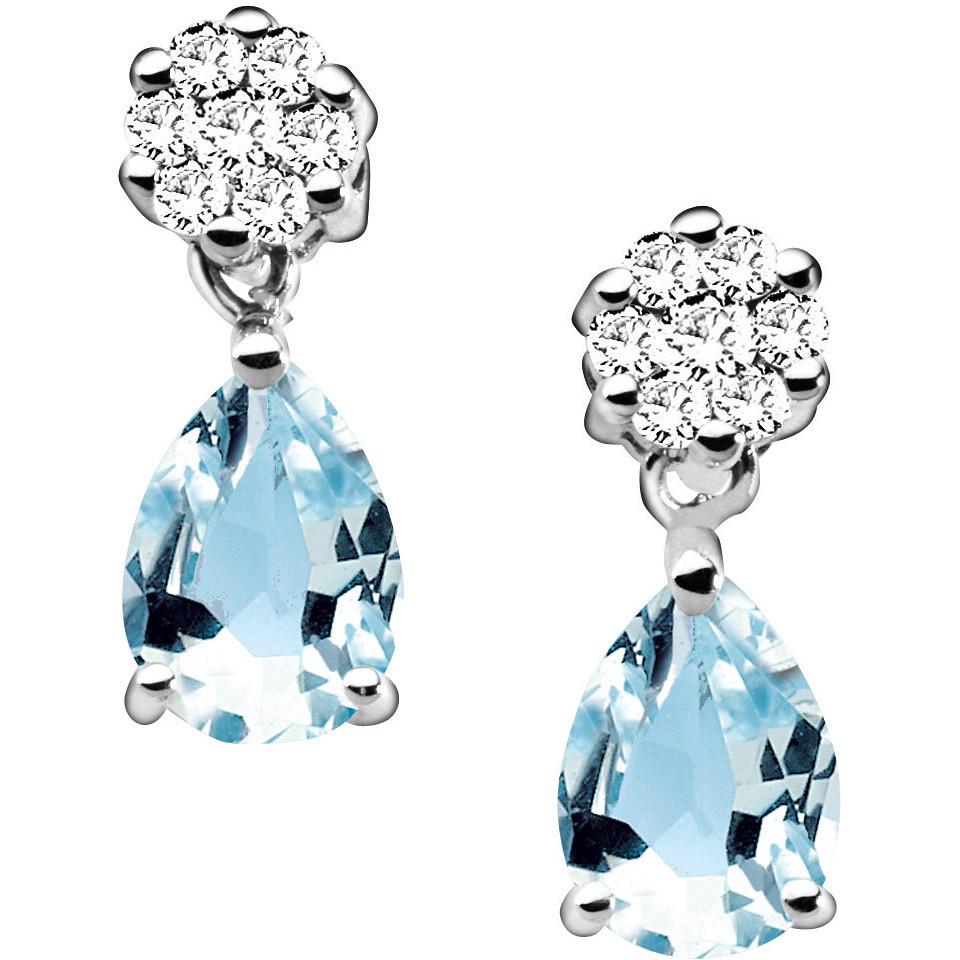 orecchini donna gioielli Comete Pietre preziose colorate ORQ 192