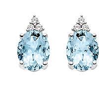 orecchini donna gioielli Comete Pietre preziose colorate ORQ 206