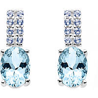 orecchini donna gioielli Comete Pietre preziose colorate ORQ 208