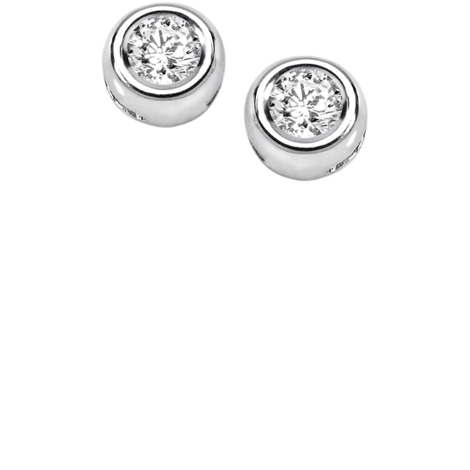 orecchini donna gioielli Comete Punti Luce ORB 805