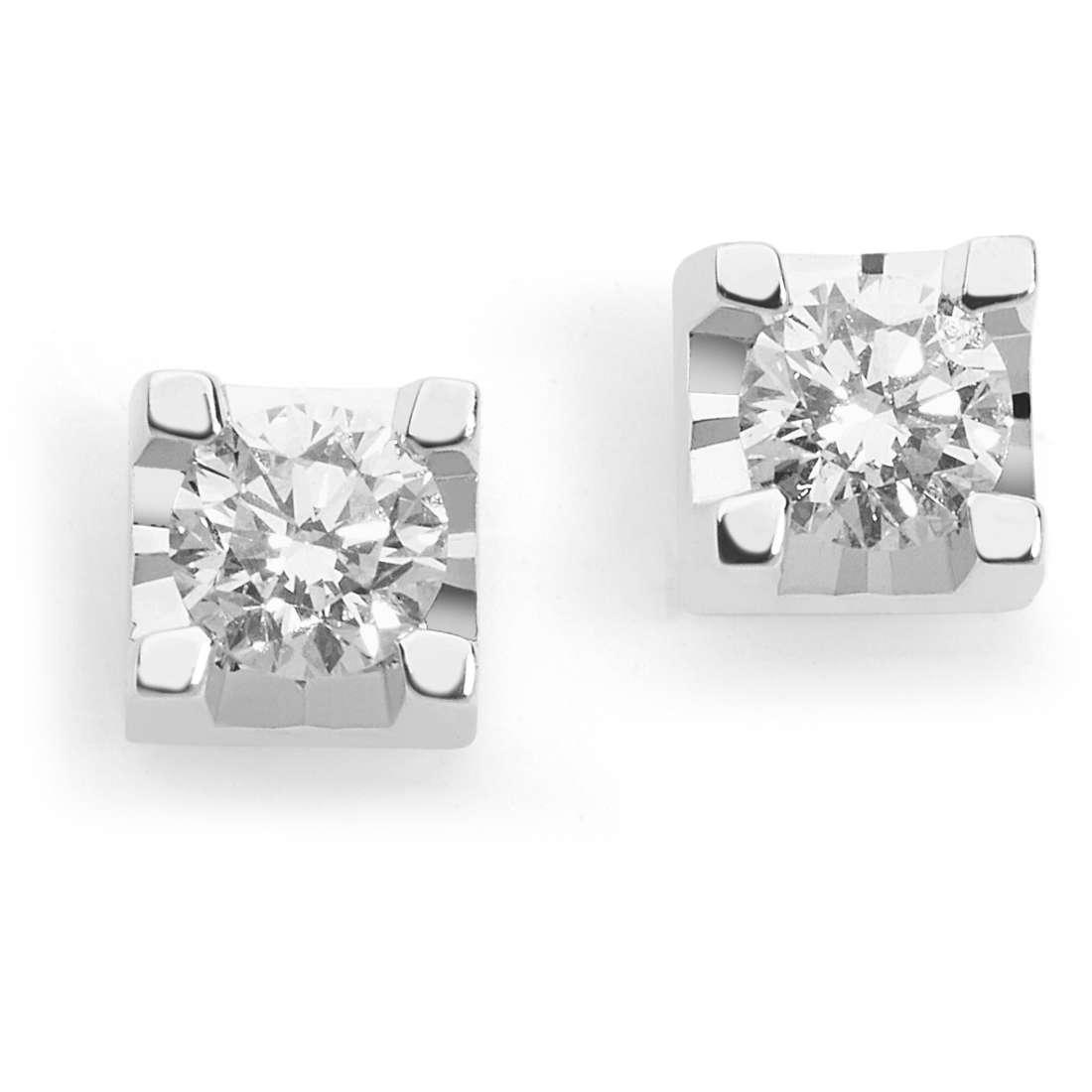 orecchini donna gioielli Comete Punti Luce ORB 818