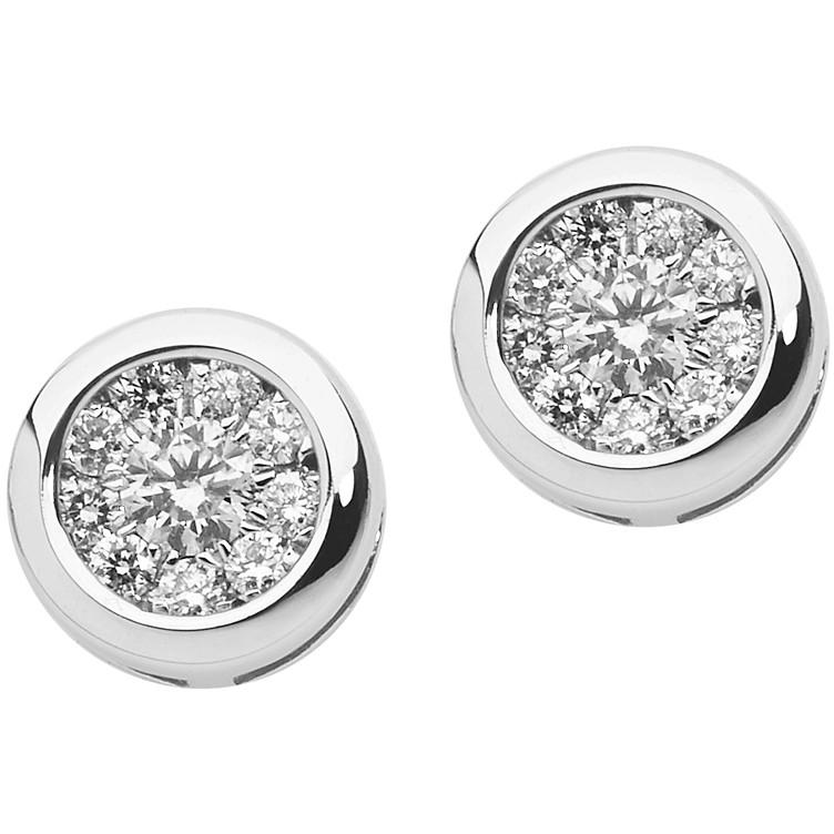orecchini donna gioielli Comete Punti Luce ORB 825