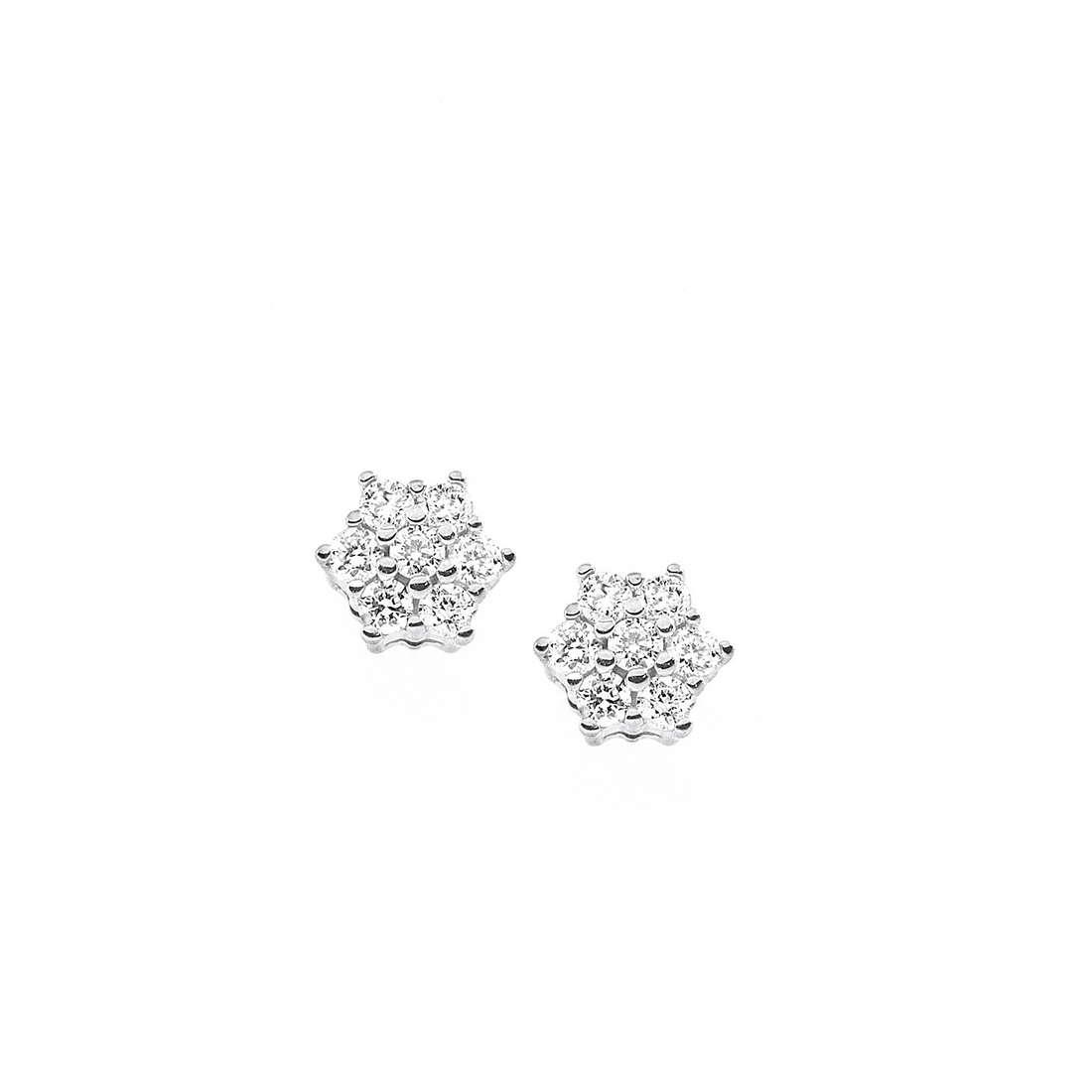 orecchini donna gioielli Comete Punto luce ORB 513