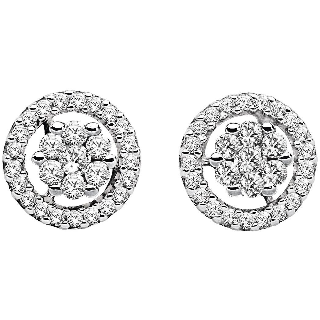 orecchini donna gioielli Comete Punto luce ORB 514