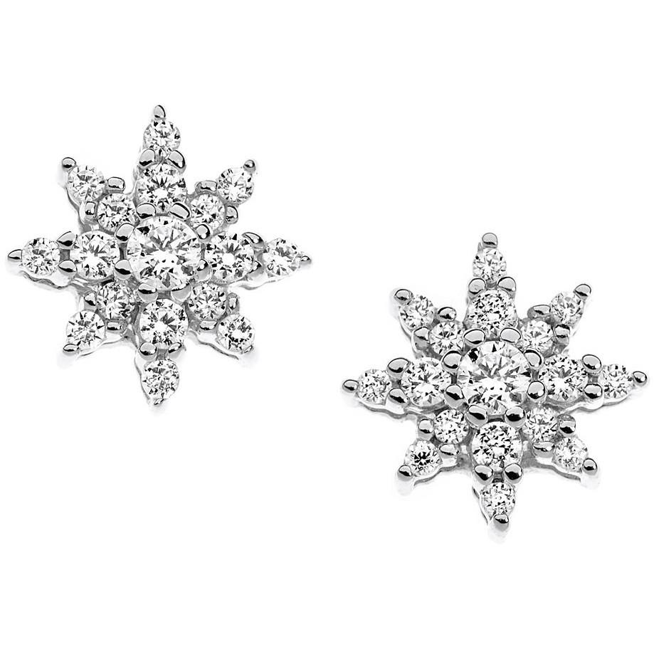 orecchini donna gioielli Comete Punto luce ORB 607