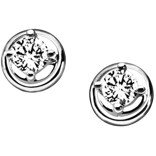 orecchini donna gioielli Comete Punto luce ORB 630