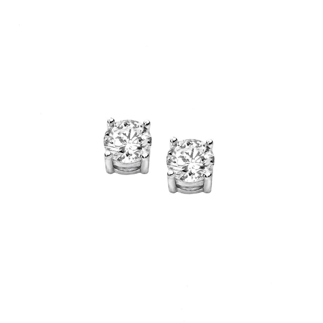 orecchini donna gioielli Comete Punto luce ORB 687