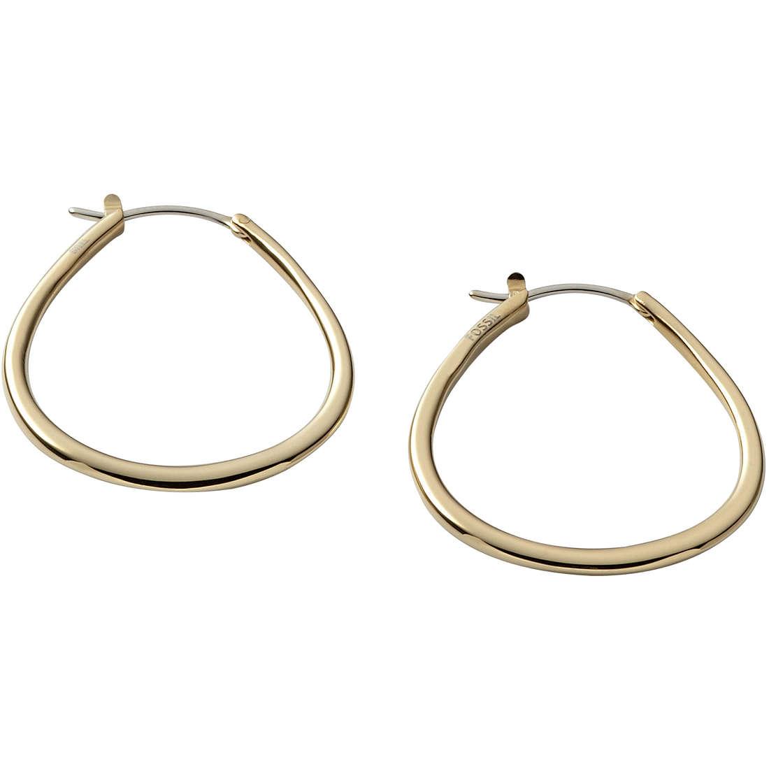 orecchini donna gioielli Fossil JF00109710