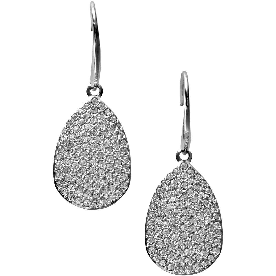 orecchini donna gioielli Fossil JF00201040