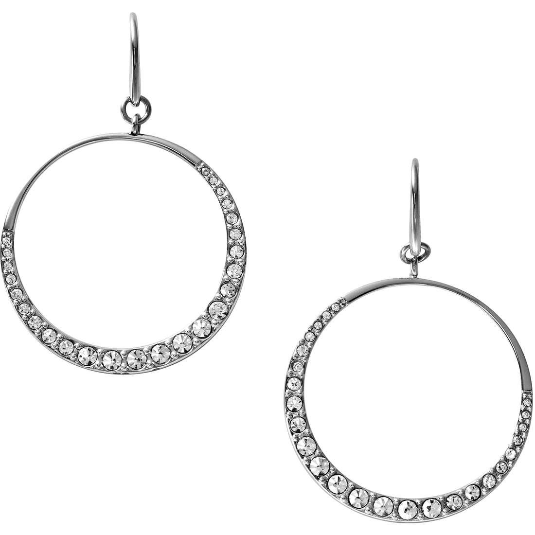 orecchini donna gioielli Fossil JF00242040