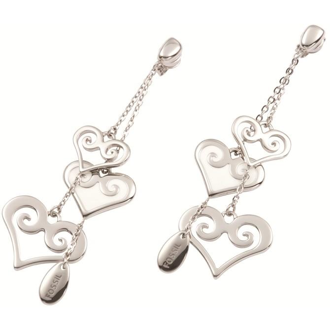 orecchini donna gioielli Fossil JF84694040
