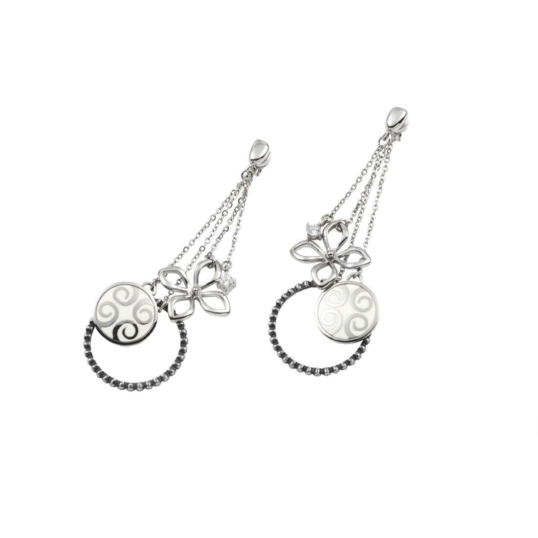 orecchini donna gioielli Fossil JF84992040