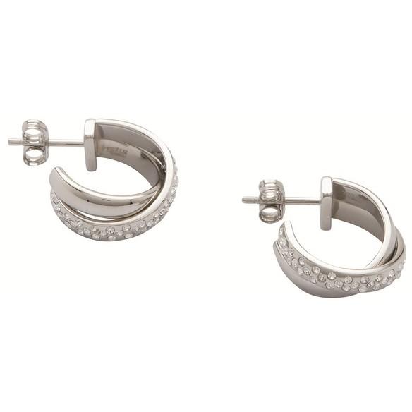 orecchini donna gioielli Fossil JF86497040